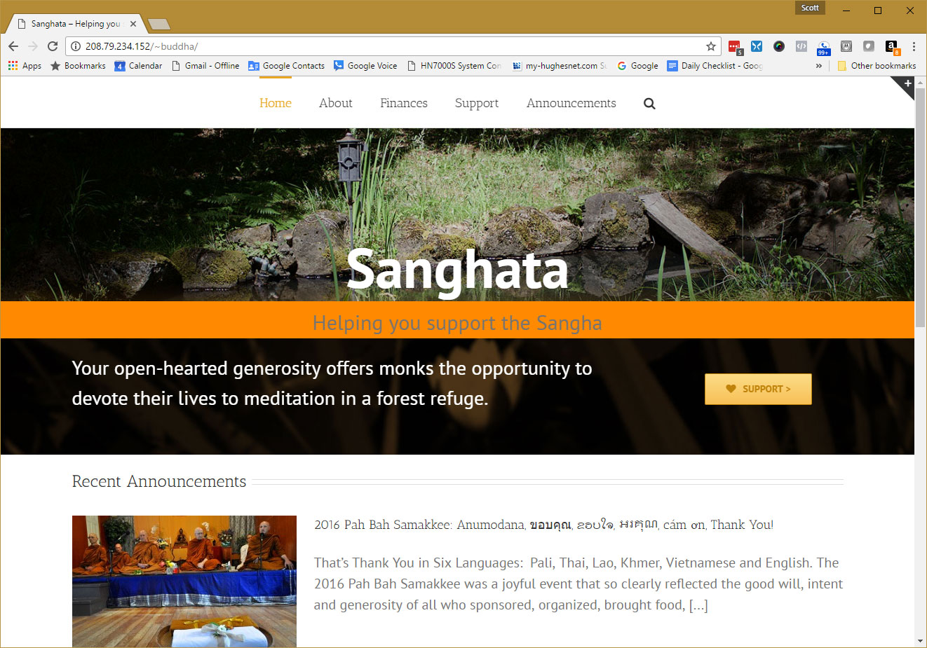 sanghata