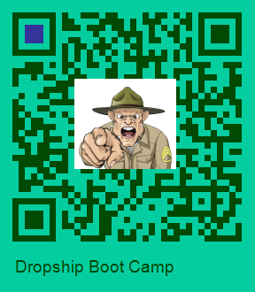 QR Code for Dropship Boot Camp