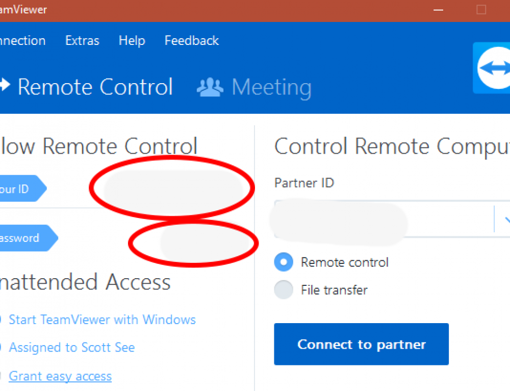 Installing and Using TeamViewer